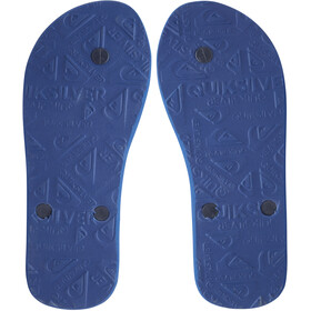 Quiksilver Molo Panel Sandals Youth, azul/naranja